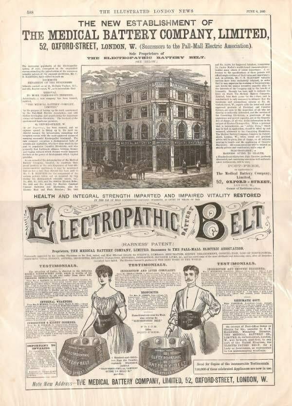 Ab Belt Newspaper