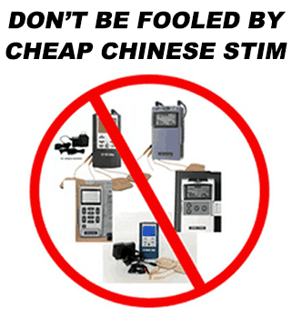 Dont be fooled by cheap and weak electronic muscle stimulators
