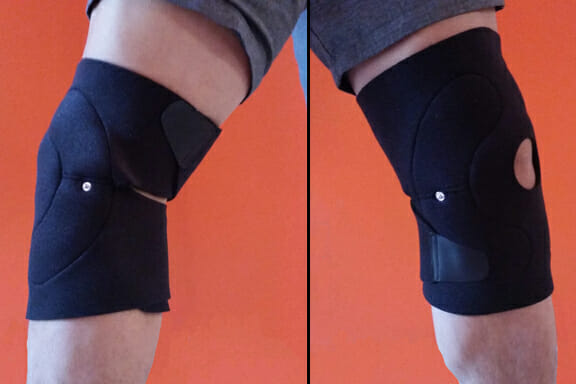 TENS & EMS Knee Brace For Pain & Recovery Demonstration
